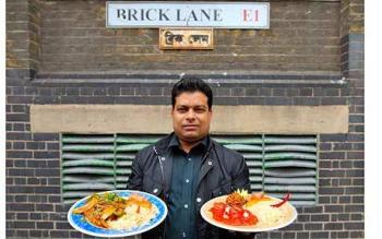 Brick Lane Restaurant Owner