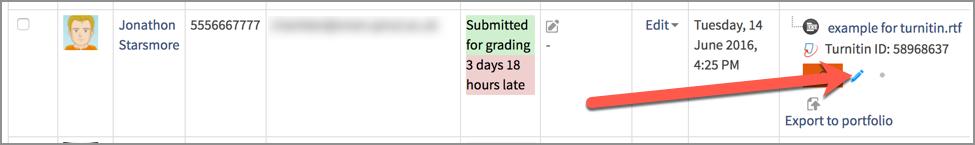 accessing grademark screen 3