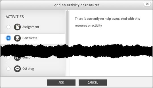 add activity