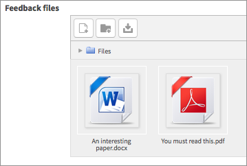 feedback files 1