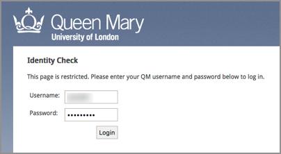 QMUL id check