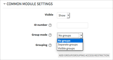 set-group-mode
